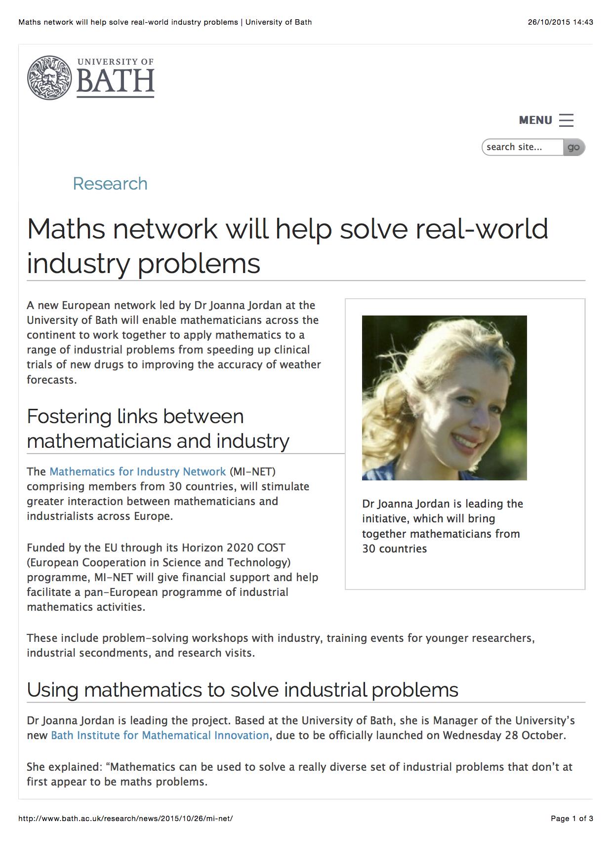 Solve network problems