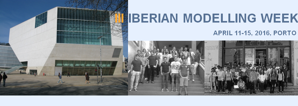 III Iberian Modelling Week, April 11-15, 2016