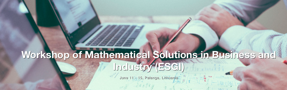 ESGI 142 – Mathematical Solutions in Business and Industry